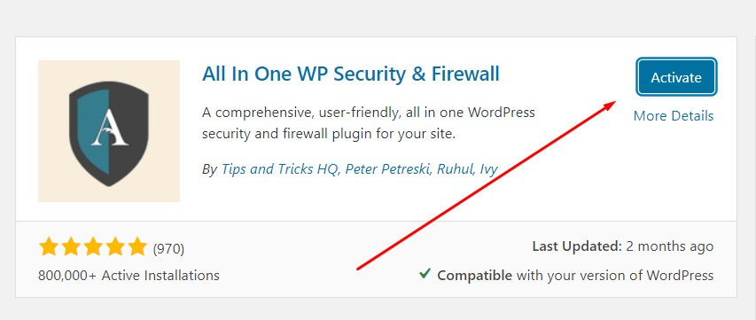 wp security plugin