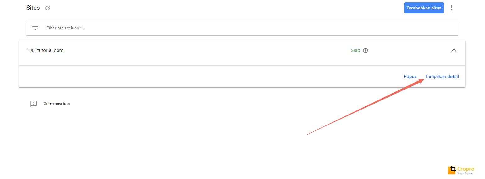 Menambahkan sub-domain di google adsense